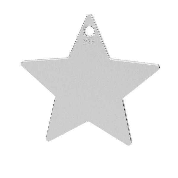 Gravurplatte Stern