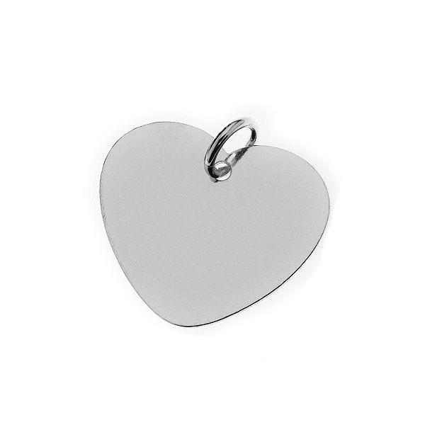 Gravurplatte Herzform (20mm)